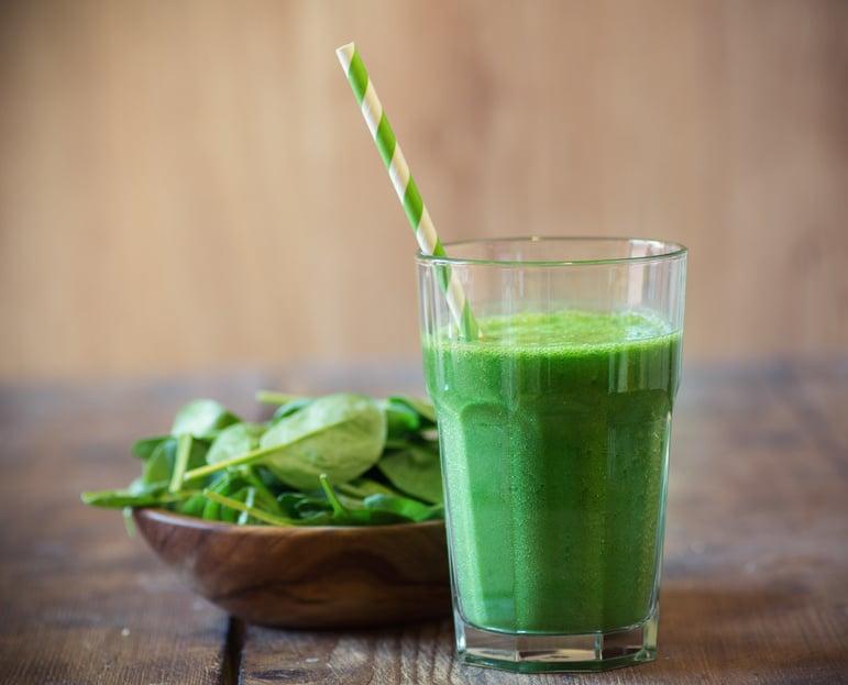 Grüne Smoothie Variationen - Smoothie aus Spinat