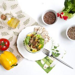 Rezepte mit CBD Öl - Salat