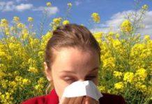Allergische Reaktion - Heuschnupfen